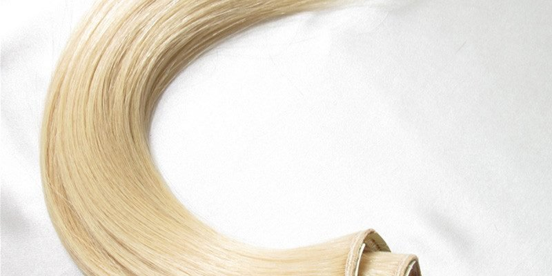 100 human hair remy clip in extensions 1